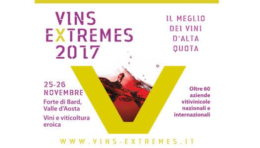 Vins Extremes 2017 dal 25 al 26 novembre