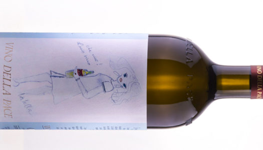 """""""Lalella"""" disegna la nuova etichetta del Vino della Pace"""