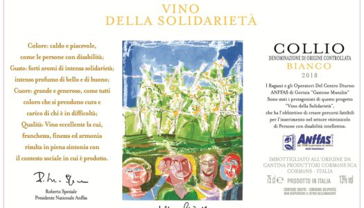Alla Cantina Produttori Cormòns il premio Eticork di Amorim Cork Italia e Vinibuoni d'Italia